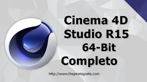 Download CINEMA 4D R15 + Crack Completo via Torrent