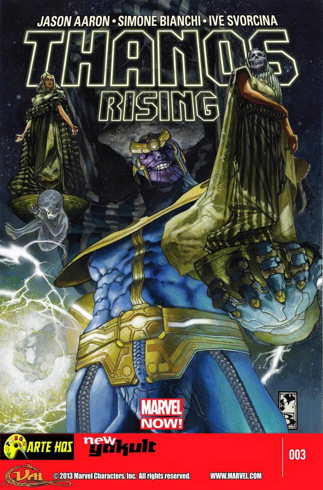 Nova Marvel! Thanos Rising #3