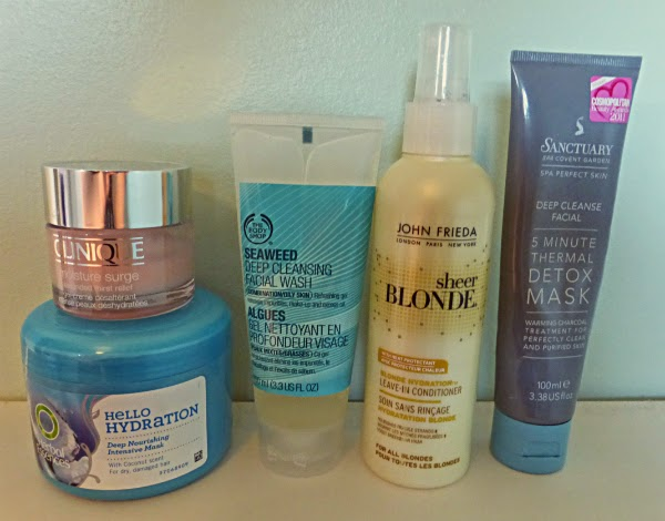 clinique, herbal essences, john frieda, sanctuary, the body shop, beauty products, beauty blog, beauty review, beauty