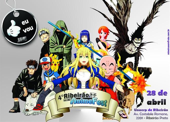 28 de abril tem Ribeirão Preto Anime Fest