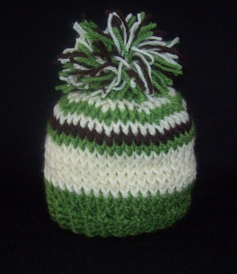 Beginner Ribbed Crochet Hat Pattern (Men's / Uni