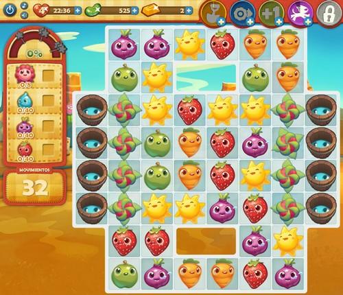 Nivel 100 Farm Heroes Saga
