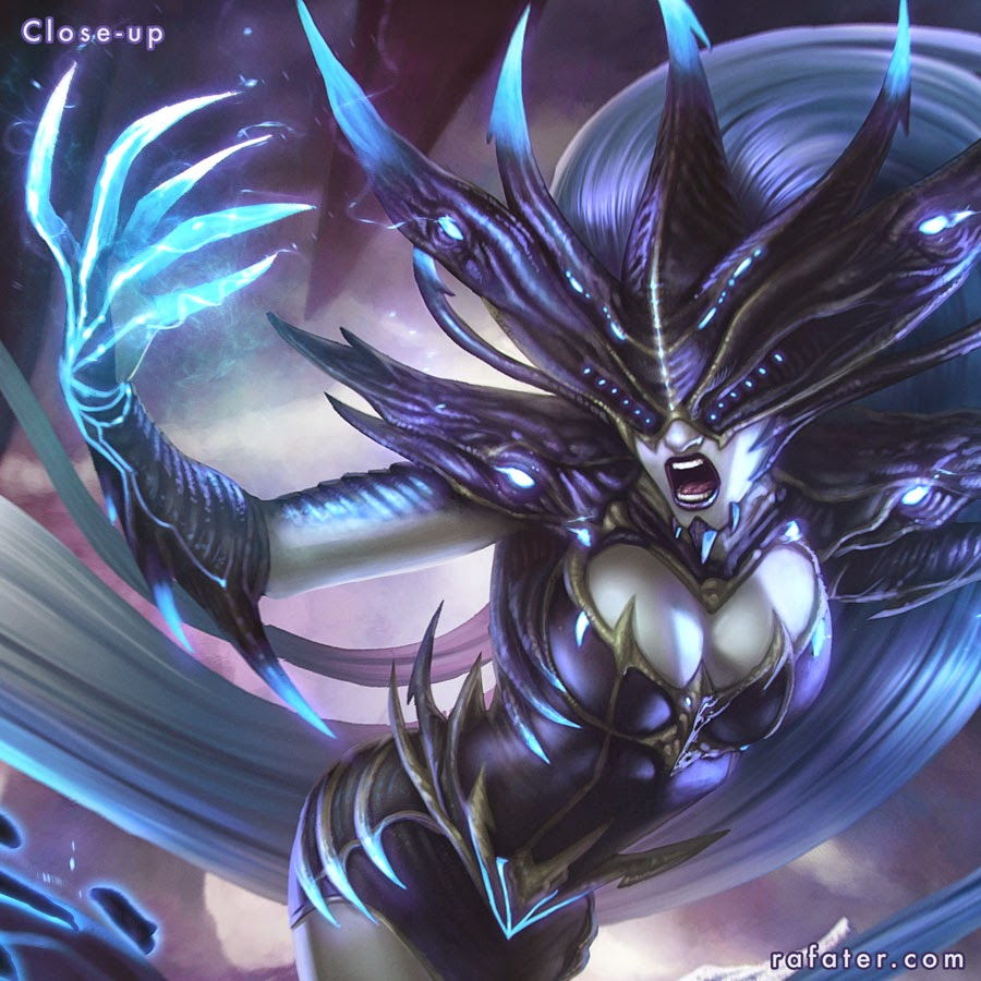 League of legends - Lissandra by Rafater