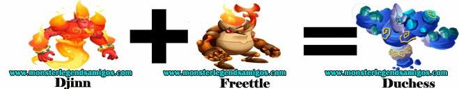 como hacer el monster duchess en monster legends formula 1