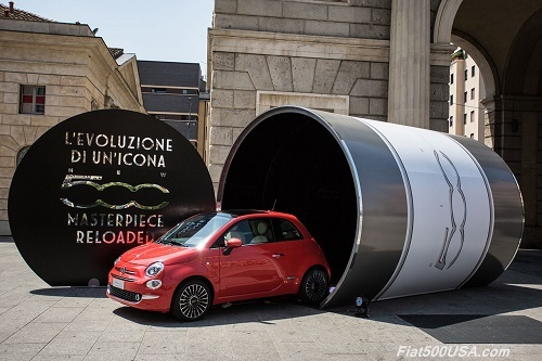 New Fiat 500 Masterpiece Reloaded