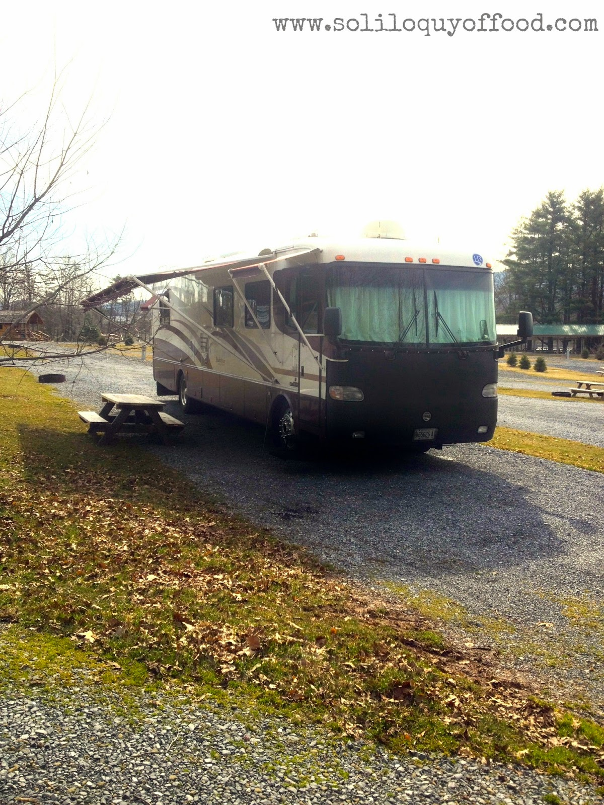 Chaos On Wheels | settled in for a few days at Twin Grove RV Resort in Pine Grove, PA  - www.soliloquyoffood.com