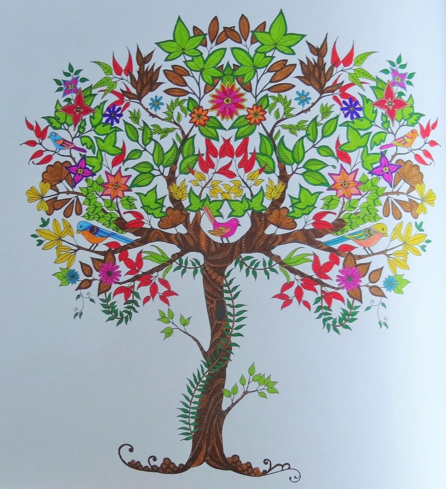 Les mercredis de julie coloriages art th rapie for Axelle red jardin secret