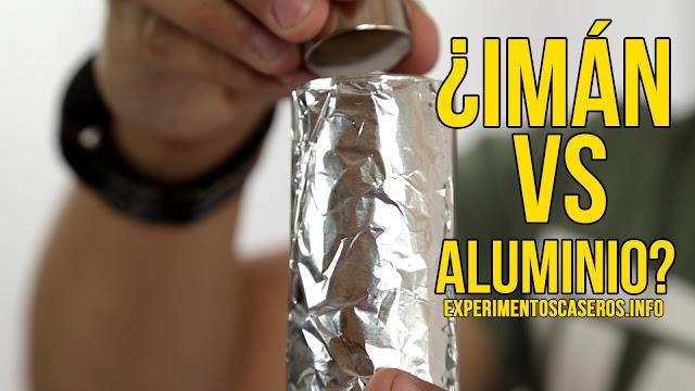 qué pasa si metes un imán de neodimio en un tubo de aluminio, aluminio, iman, experimentos con imanes, experimentos con aluminio, experimentos de física, experimentos de química, experimentos con huevos, experimentos fáciles, experimentos sencillos, experimentos caseros, experimento casero, experimentos, experimentos, feria de ciencias, feria científica, ciencia, ciencia en casa, experimentos para niños