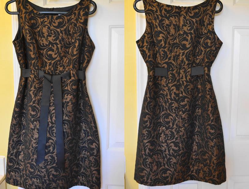 Brocade Vintage Dress