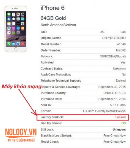 Iphone 6 lock và những lý nên chọn mua