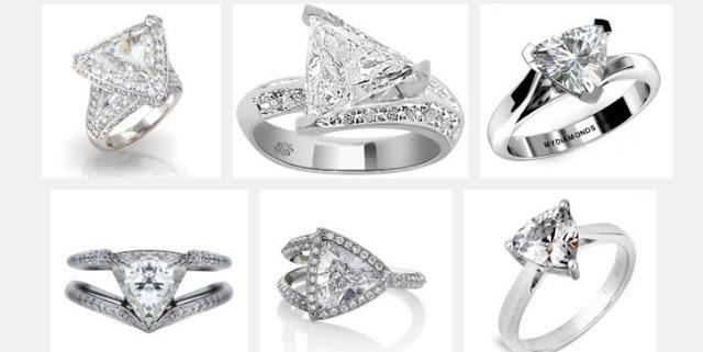 Trilliant Diamonds Rings