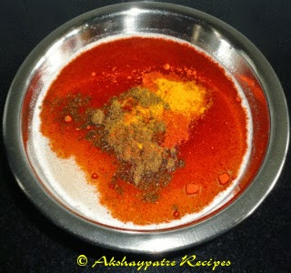 add coconut paste and masala