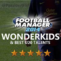 Best Football Manager 2014 wonderkids