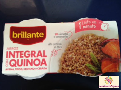 arroz brillante con quinoa