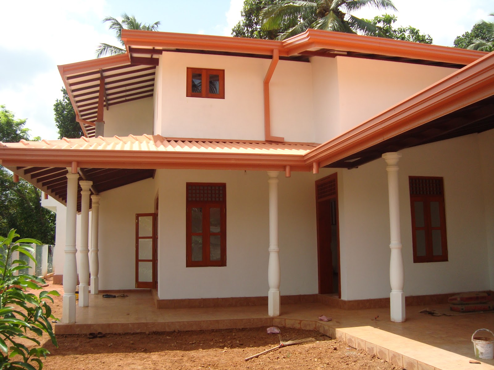 Properties in sri lanka 908 brand new two storey house for Sri lanka modern house photos