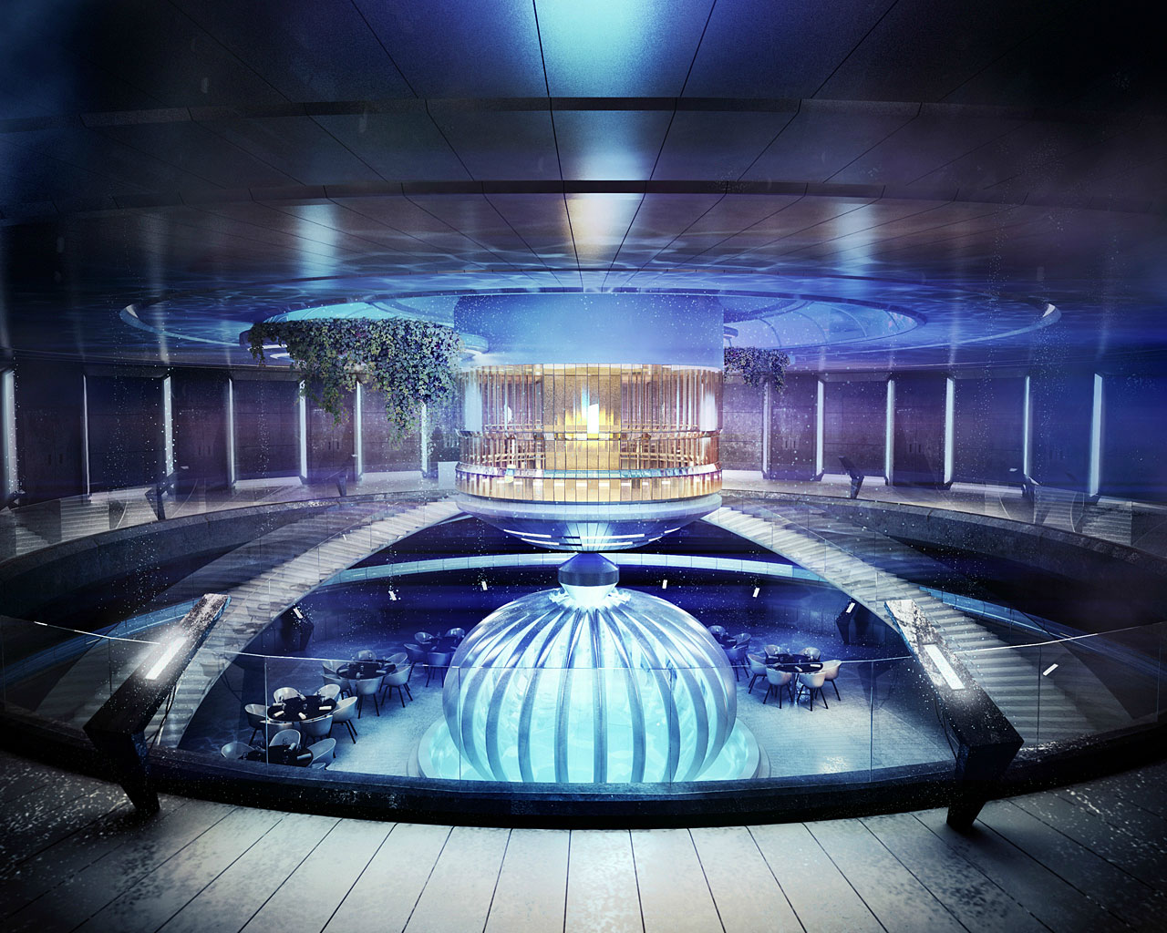 Passion for luxury underwater hotel planned in dubai for Fancy hotels in dubai