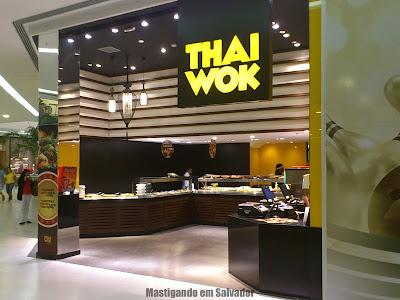 Thai Wok: Fachada da loja do Bela Vista Shopping
