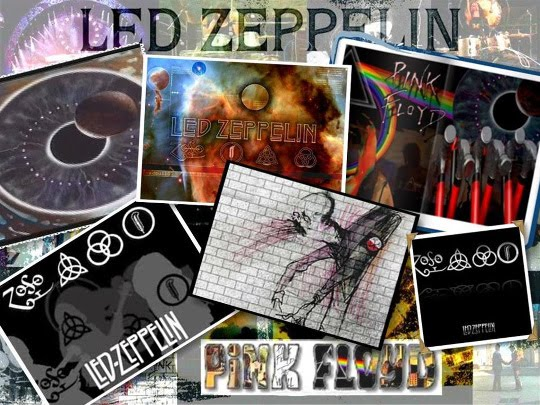 Pink Floyd and Led Zeppelin are all rock needs !!!