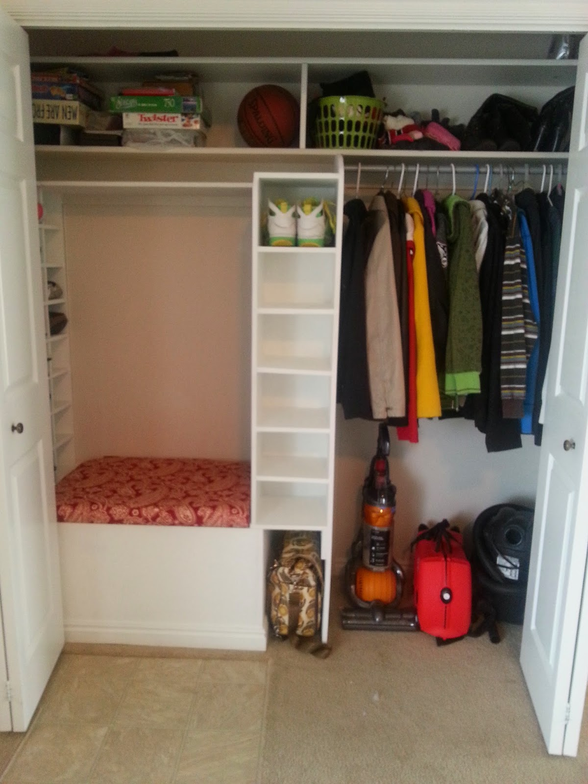 times entryway closet makeover