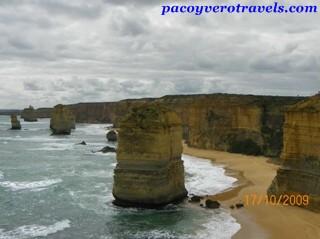 Los doce Apóstoles y la Great Ocean Road en Australia