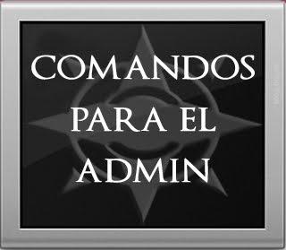 Comandos admin