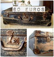 Tienda vintage online de maletas antiguas de cartón duro
