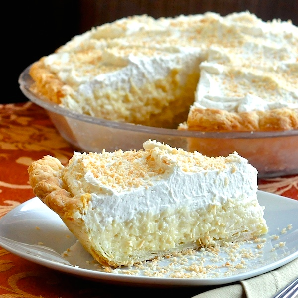 The Absolute Best Coconut Cream Pie