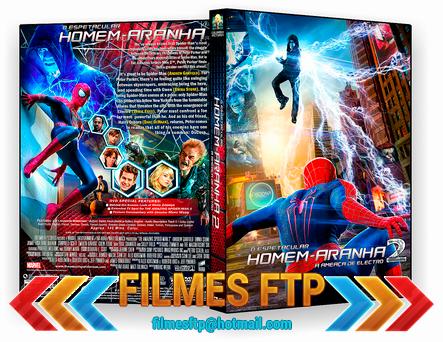 O Espetacular Homem Aranha 2 A Ameaça de Electro 2014 DVD-R