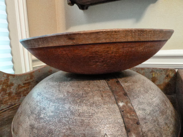 Red Wood Bowl