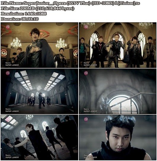 Download PV Super Junior - Opera (SSTV Plus Full HD 1080i)