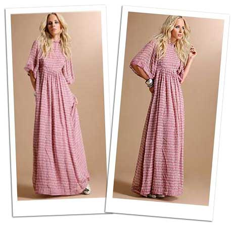 Avoid to wear short maxi dress, take the long one