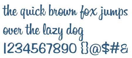 Billabong Font TrueType Free Download On ProFont
