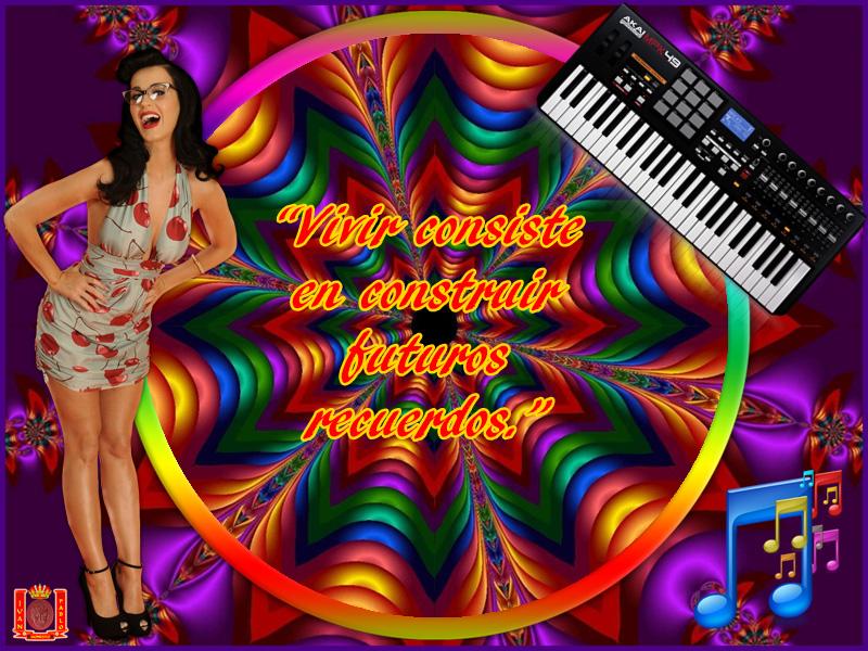 MARCOS PHOTOSCAPE: MARCOS PhotoScape MARCO MUSICA 16 KATY PERRY
