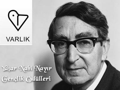 Yaşar Nabi Nayır Gençlik Ödülleri yarışma duyurusu