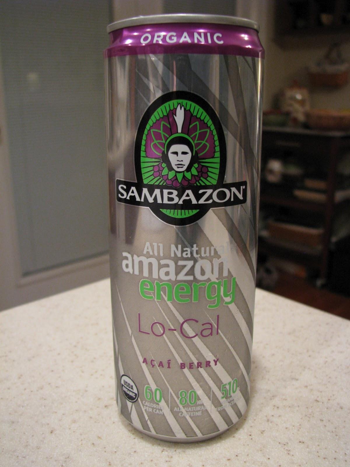 Drinkable Review Sambazon Lo Cal Acai Energy Drink