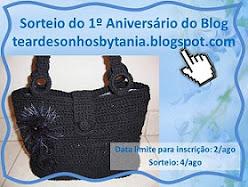 Sorteio blog Tania