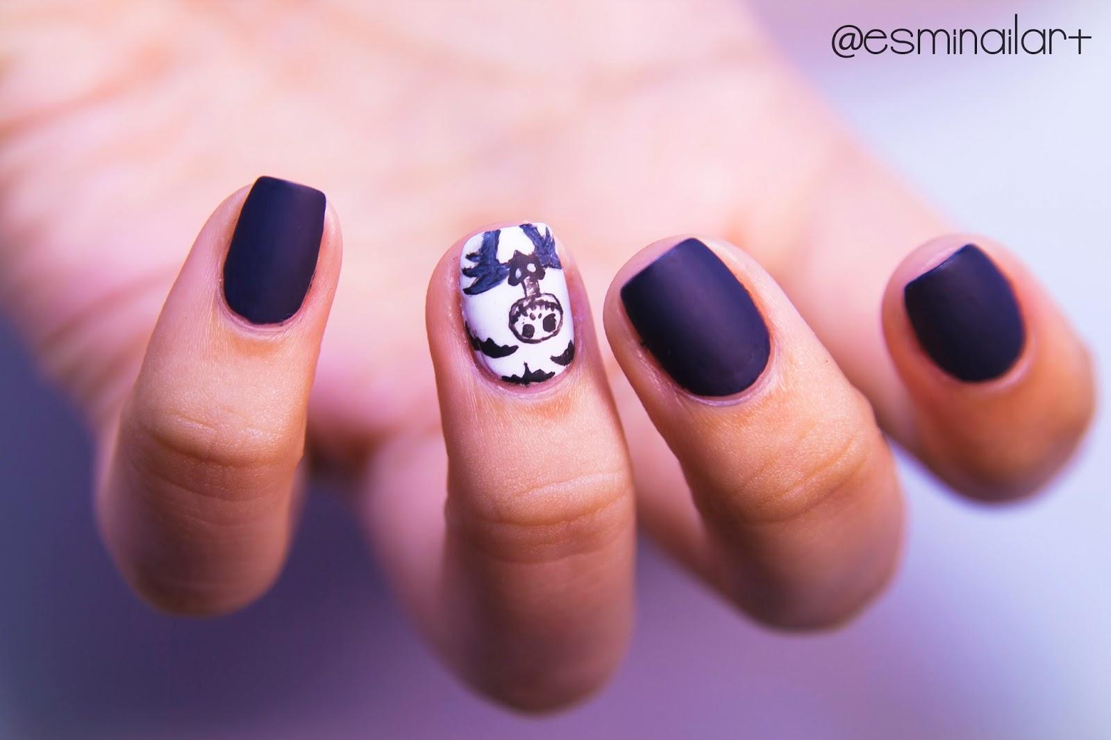 Mi nail art!: Jack Skellington | Halloween Nails
