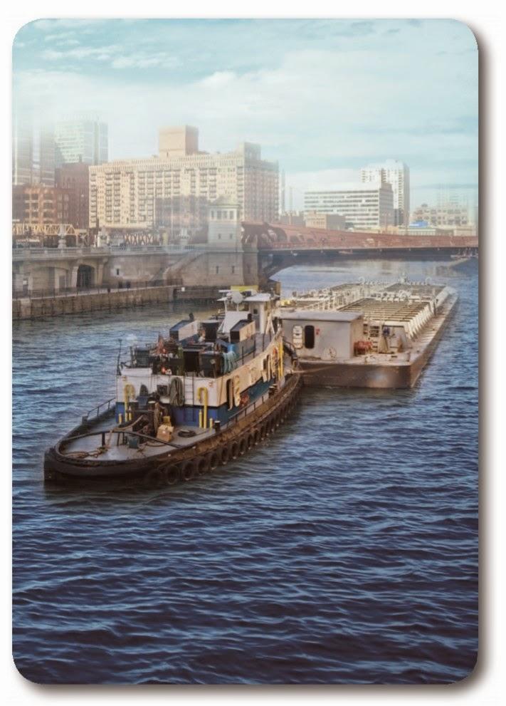 Движение водного транспорта по внутренним водным путям
