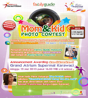Lomba Foto Ibu dan Anak Hadiah Masuk Majalah ~ info lomba apa saja