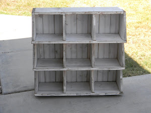 Shabby Cubby Shelf  *SOLD*