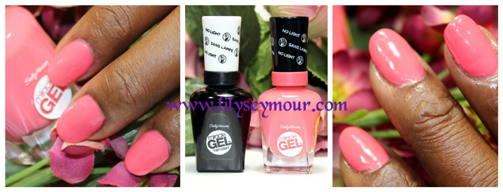 Sally Hansen No Light Gel Polish & Top Coat