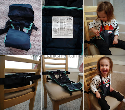 Snazzy Baby Deluxe Travel Chair - Click to view more info