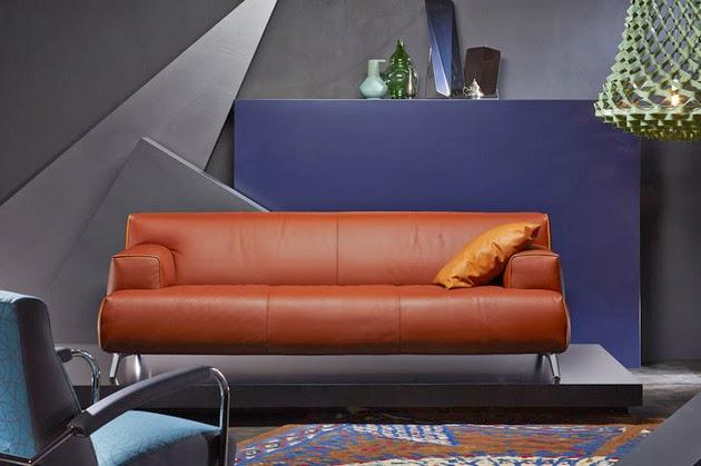 gambar contoh desain sofa tamu minimalis yang modern