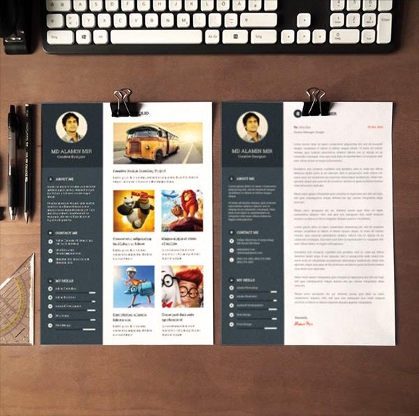 free psd resume template tinydesignr