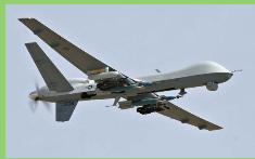 Casi la mitad de la frontera entre Estados Unidos y México vigilada por UAV Predator