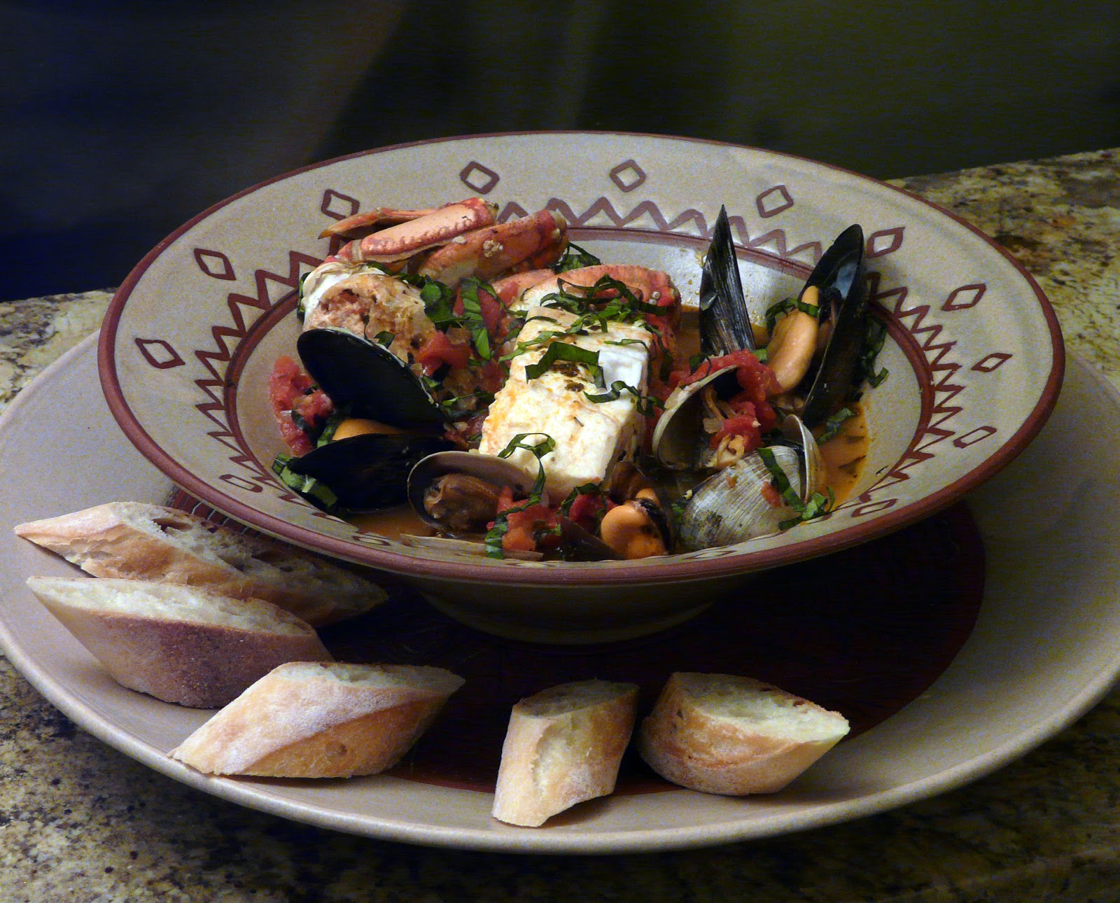 Alaskan Halibut Cioppino Recipe — Dishmaps