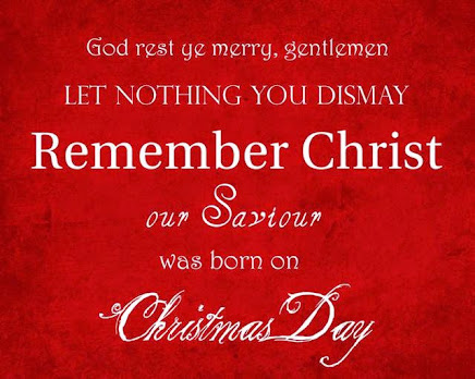 Christ Jesus was BORN on Christmas Day!