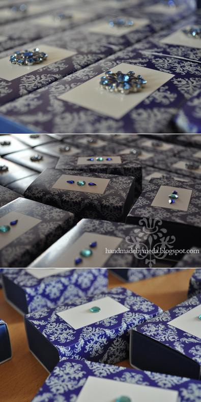 Irina 39s Sapphire Wedding Stationery