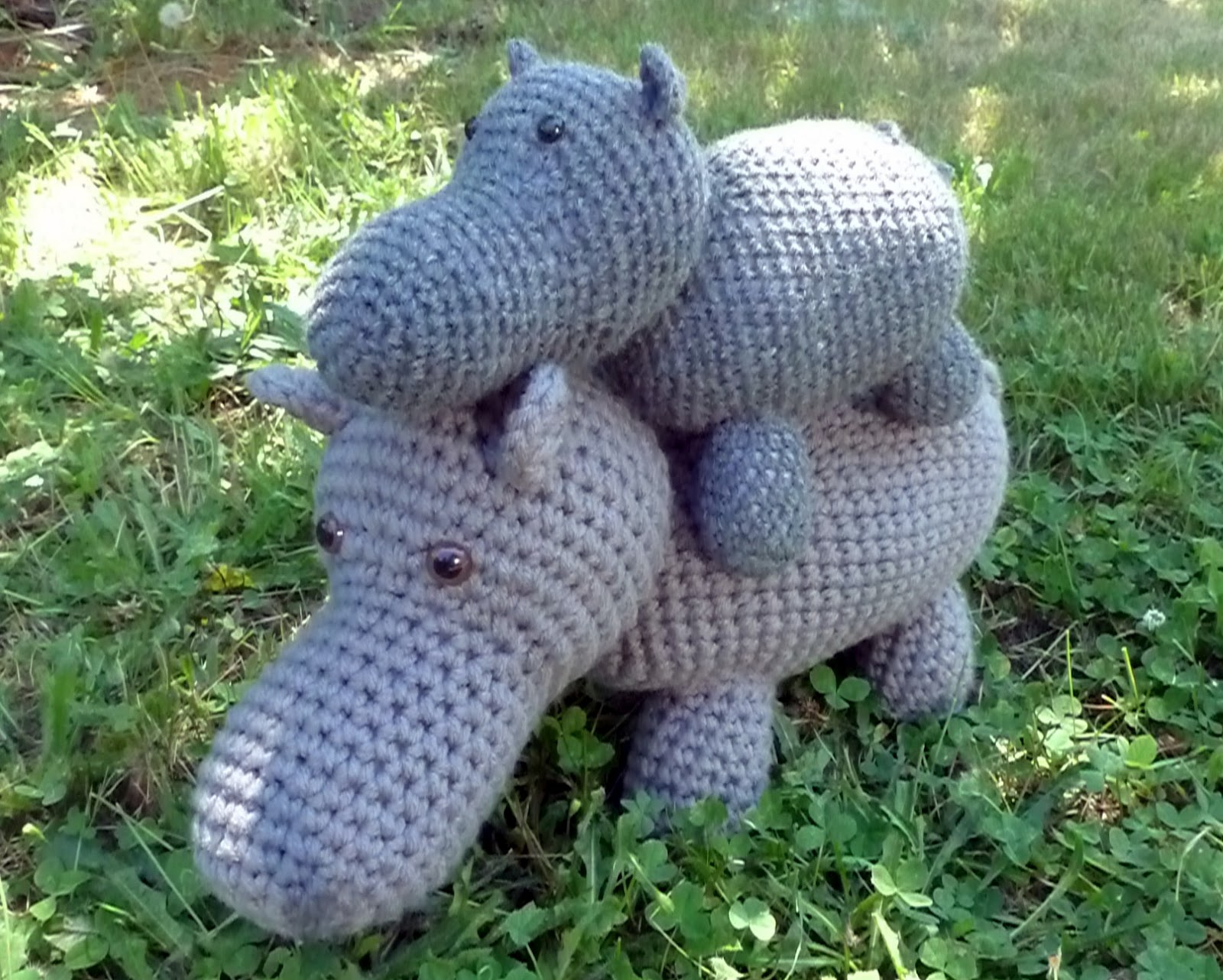 Amigurumi Hippopotamus : Tansy Dolls: Crochet Hippo Pattern