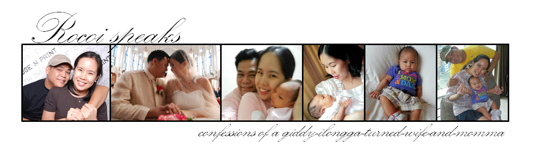 confessions of a giddy-ilongga-turned-wife-and-momma